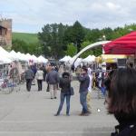 Vintage fietsmarkt op Eroica Primavera (Toscane)