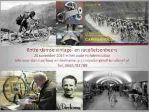 Rotterdamse retro racefietsenbeurs