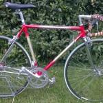 Handgemaakte Italiaanse fiets met Cinelli lugs
