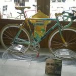 Expo Vintage koersfietsen in Triest