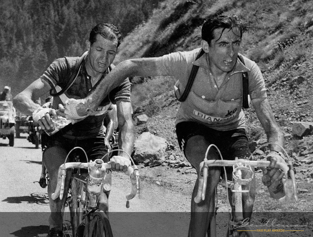 Bartali en Coppi