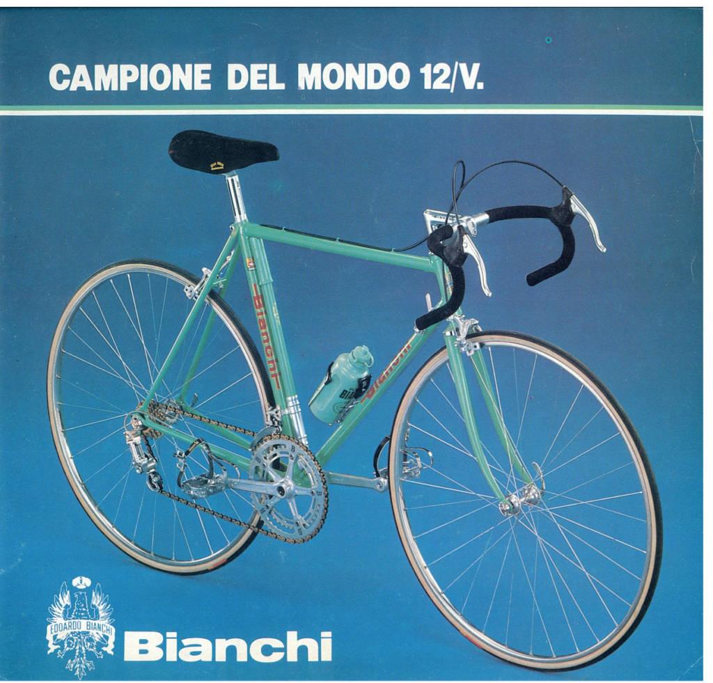 Bianchi Campione del Mondo 1980