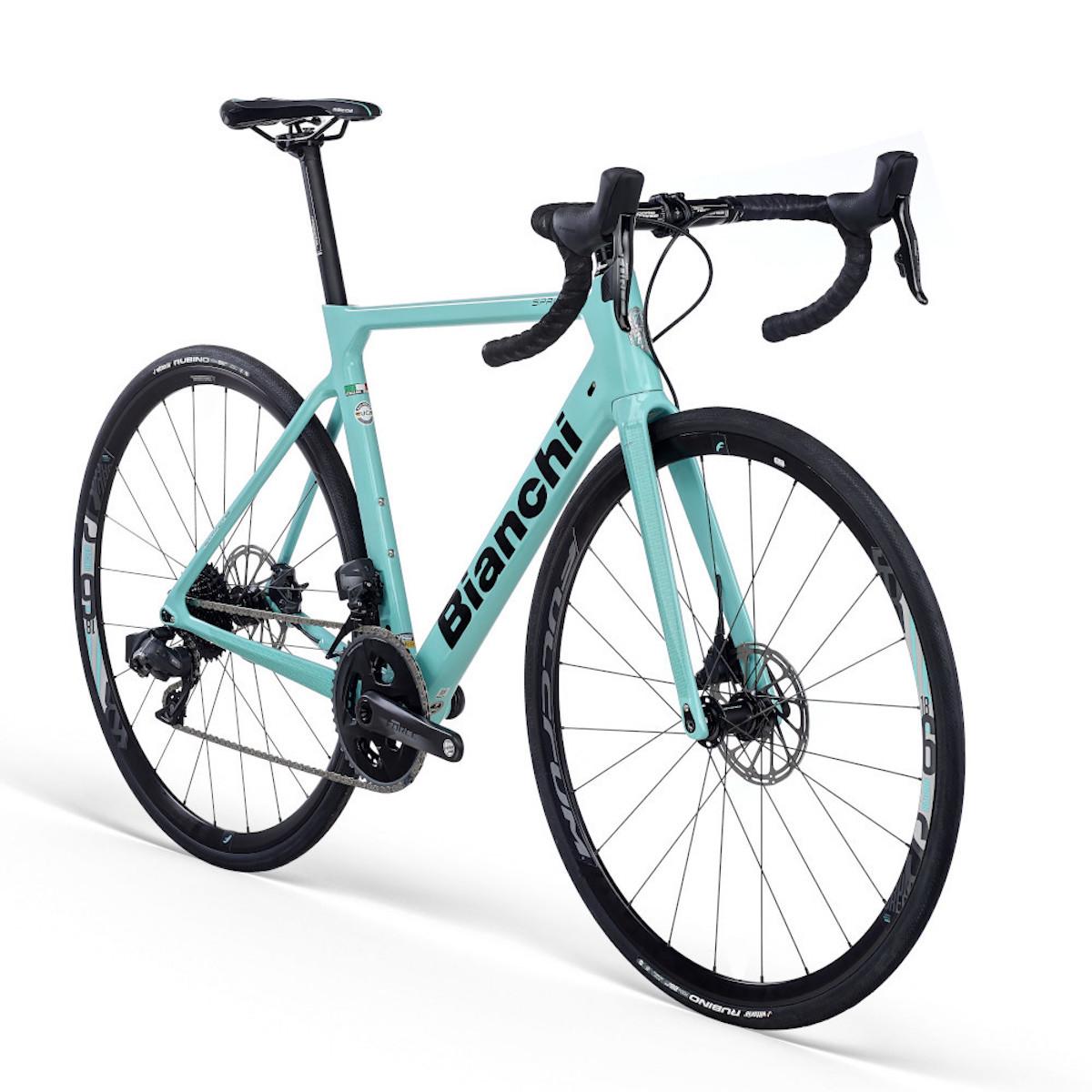 Bianchi carbon fiets