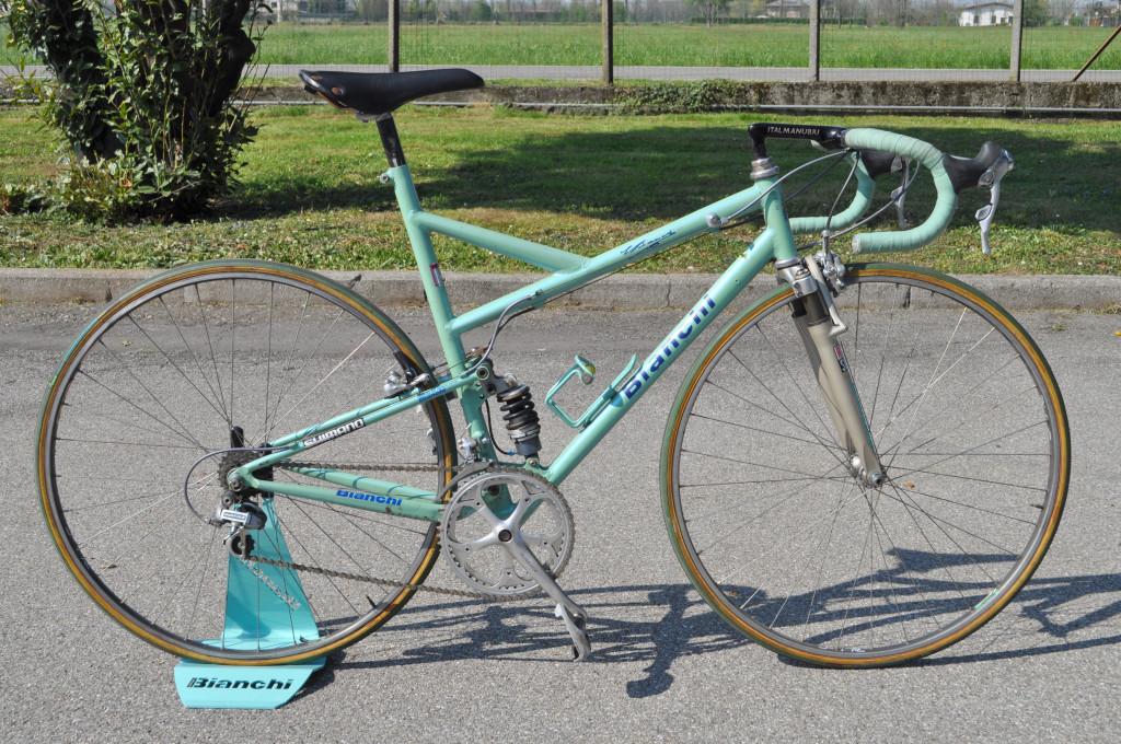 Bianchi Paris Roubaix Museeuw Johan