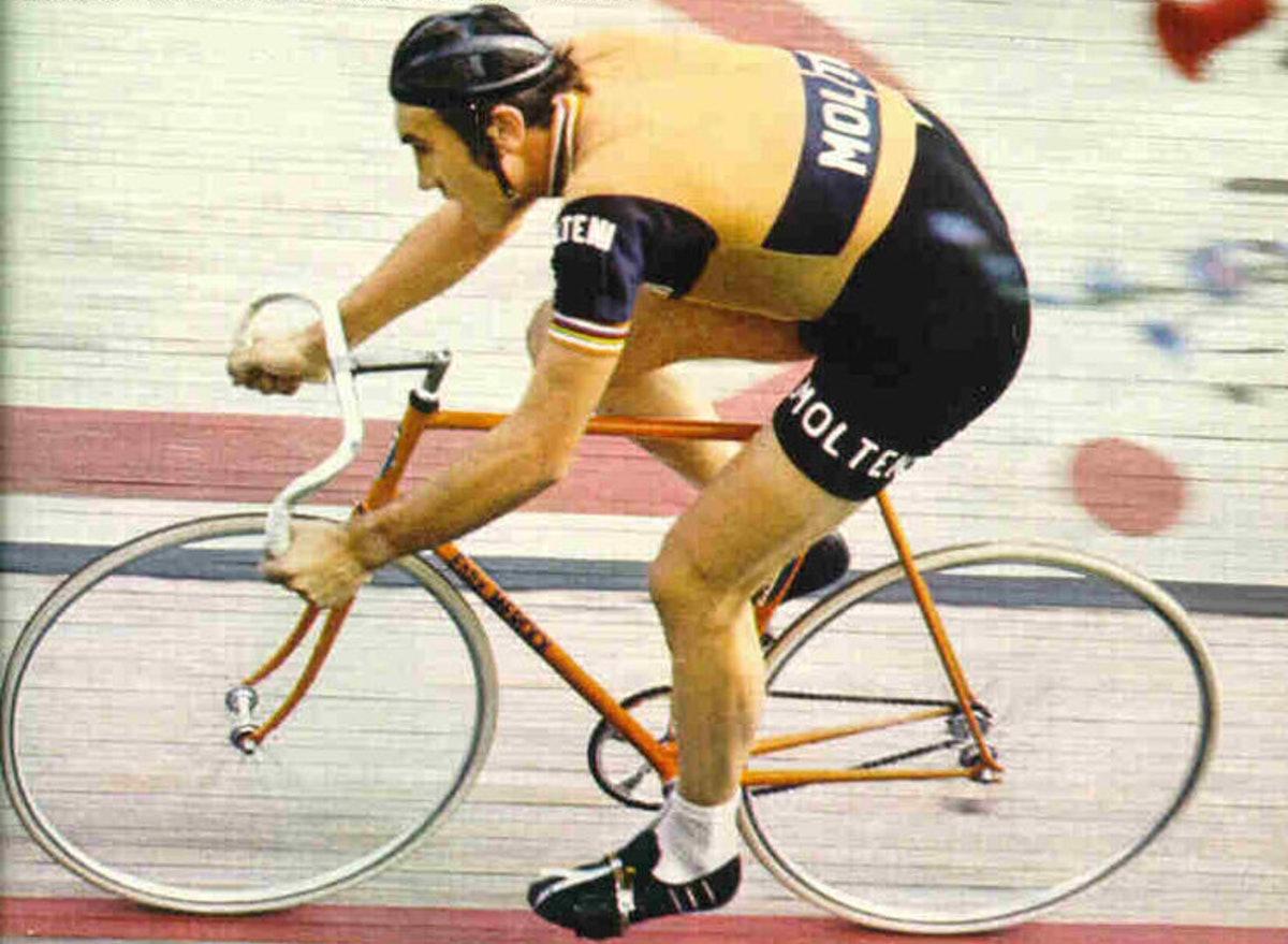 Merckx one hour record Mexico 1972