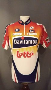 Vintagefiets-Lotto-Davitamon-Vermarc Sport