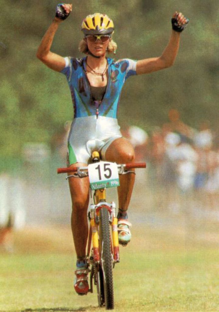 Paola Pezzi Olympische Spelen Atlanta