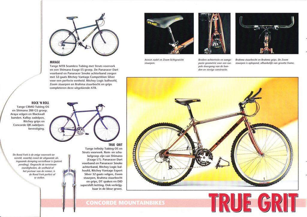 Concorde mountainbikes
