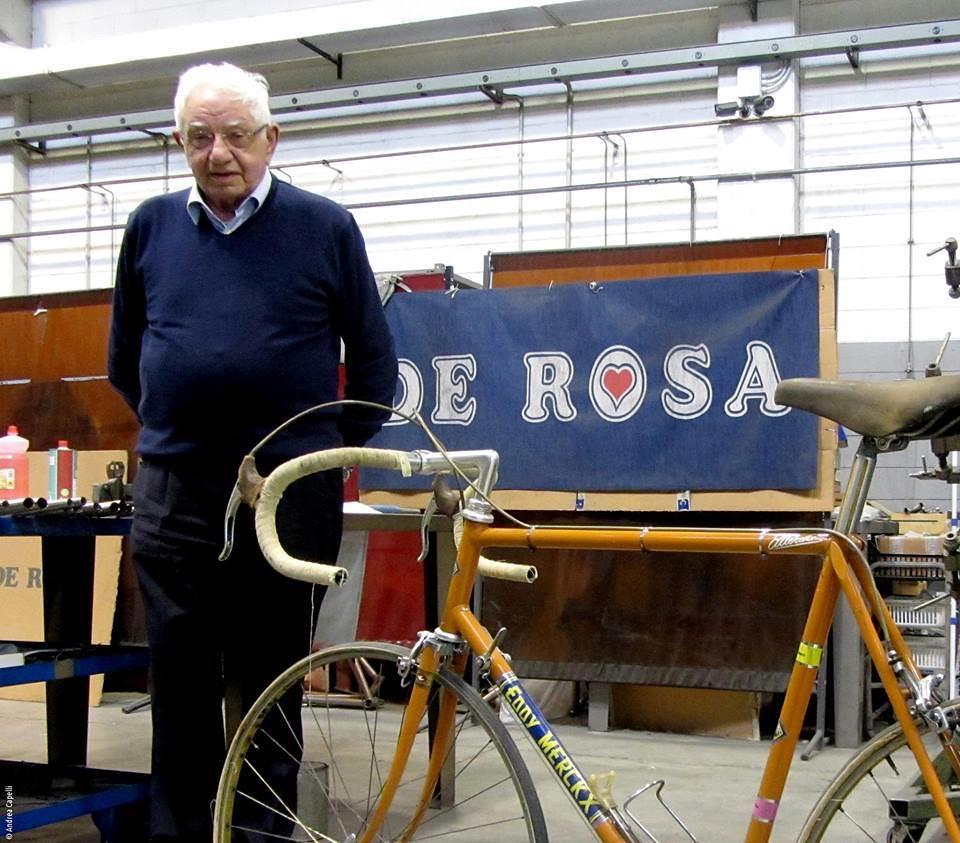 Ugo De Rosa - Eddy Merckx