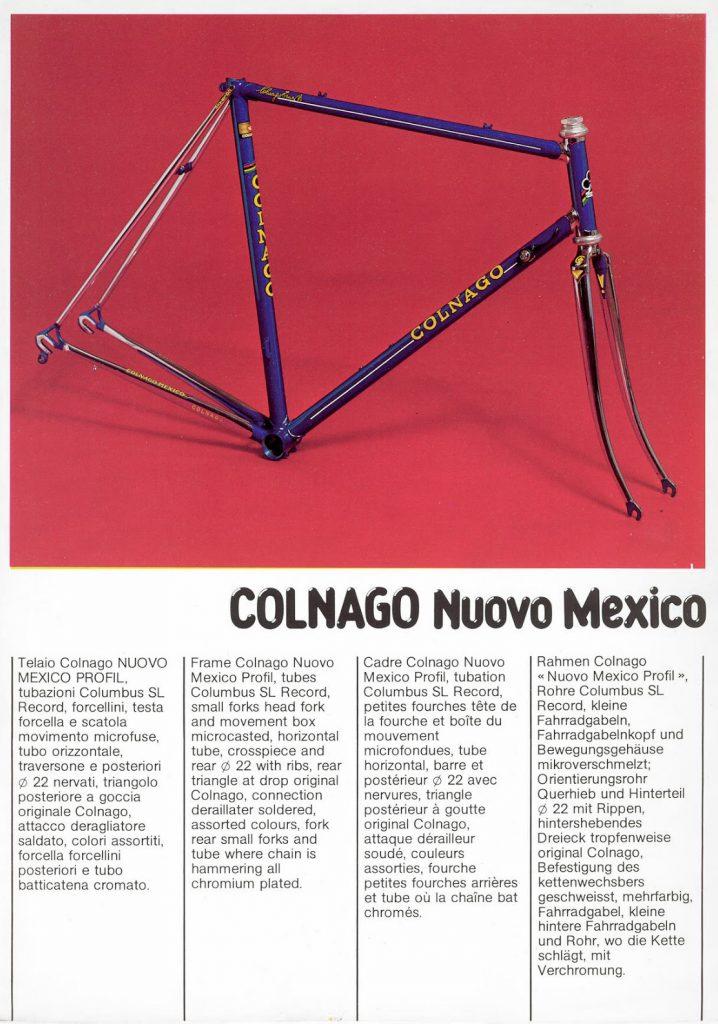 Colnago Nuovo Mexico