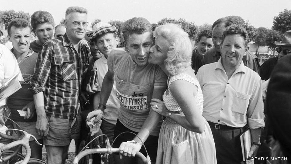 Jacques Anquetil en Janine