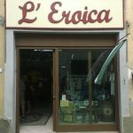 De Eroica winkel in Gaiole in Chianti in Toscane