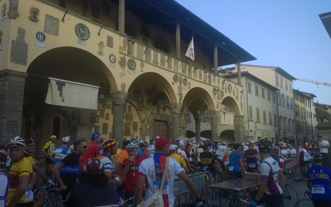 Retro event La Marzocchina in Toscane