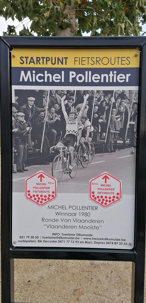Michel Pollentier fietsroute