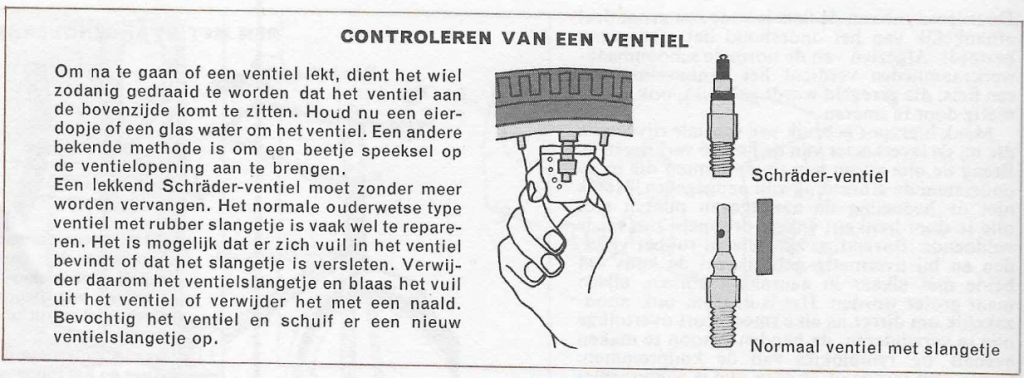 controleren ventiel