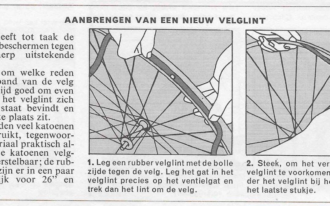 Onderhoud fiets – vervangen binnenband