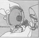 Onderhoud bromfiets- instellen koplamp