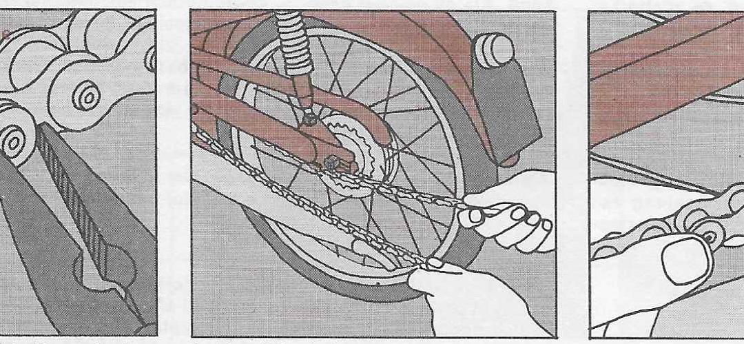 Onderhoud bromfiets – montage en instelling van de ketting