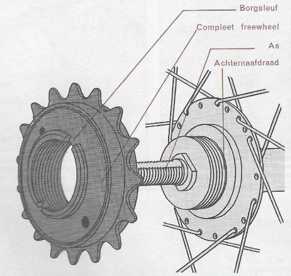 Onderhoud fiets – vervangen van een freewheel