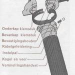 Onderhoud fiets – vernieuwen van een handvat – versnellingskabel