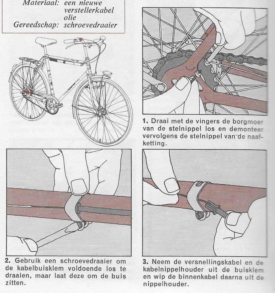 versnellingskabel fiets 01