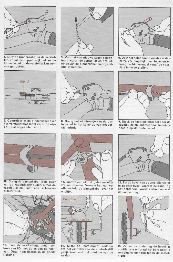 stuurversnellingskabel