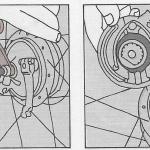 Onderhoud bromfiets – verwijderen van een voorwiel met een snel uitneembare as