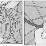 Onderhoud bromfiets – verwijderen van het voorwiel