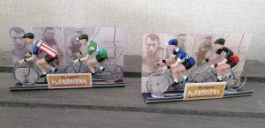 miniatuur wielrennertjes