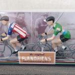 Miniatuur Flandriens wielrennertjes