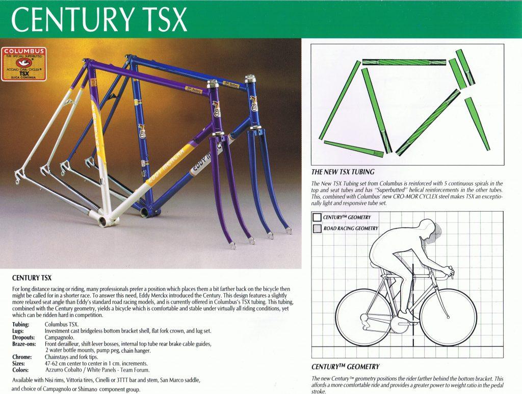 Eddy Merckx Century TSX