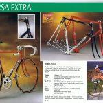 Vintage stalen Eddy Merckx racefietsen
