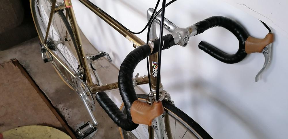 Fiets in de kijker: gouden Eddy Merckx Corsa Extra