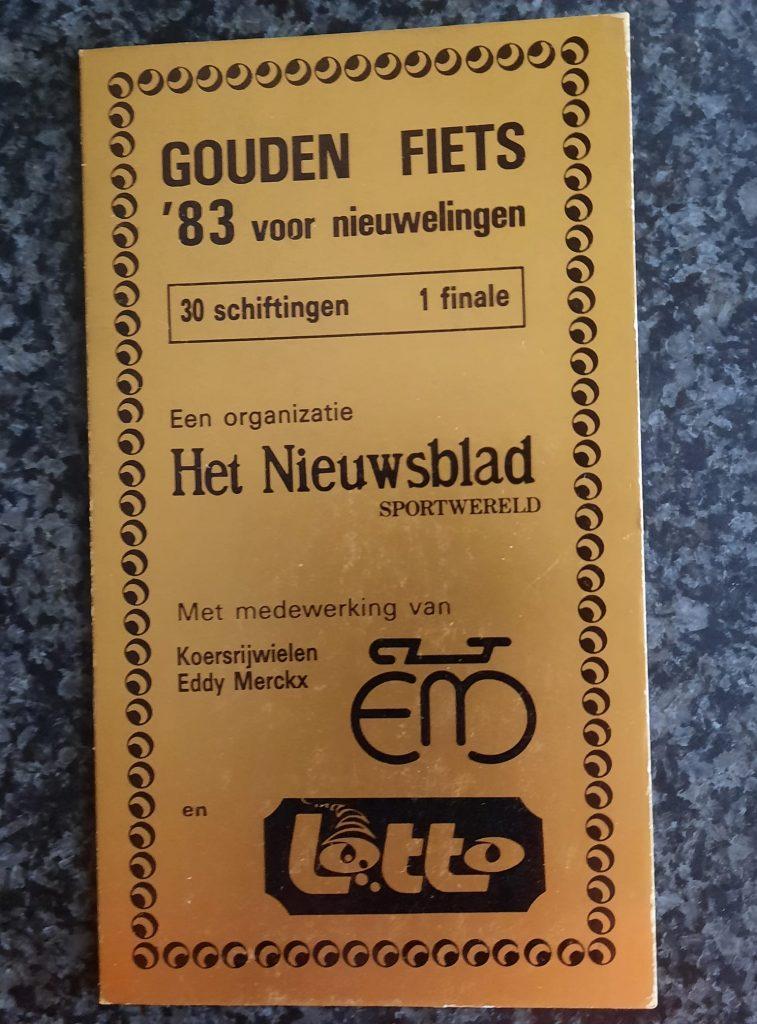 Gouden fiets Eddy Merckx